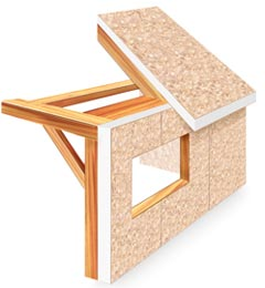 Foam laminates of vermont produces structural insulated for Sips panel prices